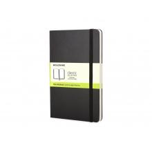 Записная книжка Moleskine Classic (нелинованный) в твердой обложке, Large (13х21см), черный