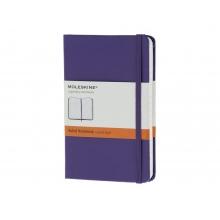 Записная книжка Moleskine Classic (в линейку), Pocket (9х14 см), фиолетовый