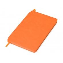 Блокнот Notepeno 130x205 мм с тонированными линованными страницами, оранжевый