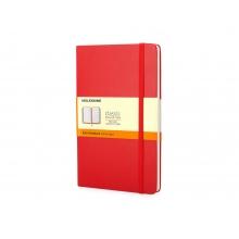Записная книжка Moleskine Classic (в линейку), Pocket (9х14 см), красный