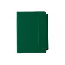 Блокнот A5 Horsens с шариковой ручкой-стилусом, зеленый