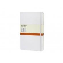 Записная книжка Moleskine Classic (в линейку) в твердой обложке, Large (13х21см), белый
