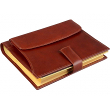 Ежедневник «Совершенство» Giulio Barсa, коричневый