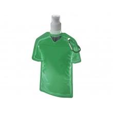 Емкость для воды в виде футболки Goal, зеленый