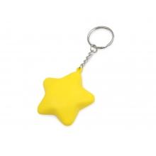 Брелок-антистресс Звезда, желтый
