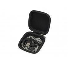Набор с наушниками и зарядным кабелем 3-в-1 In motion, серый
