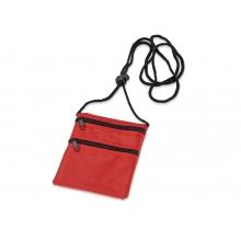 Нагрудный кошелек «Путешествие», красный