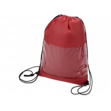 Плед в рюкзаке «Кемпинг», красный
