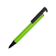 Ручка-подставка металлическая, «Кипер Q», зеленое яблоко/черный