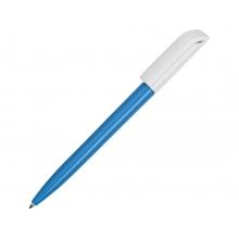 Ручка пластиковая шариковая Миллениум Color BRL, голубой/белый