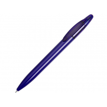 Ручка пластиковая шариковая «Mark» с хайлайтером, синий