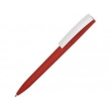 Ручка пластиковая soft-touch шариковая «Zorro», красный/белый