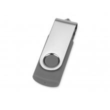Флеш-карта USB 2.0 8 Gb Квебек, темно-серый