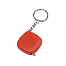 Брелок-рулетка 1м Block, красный