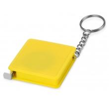 Брелок-рулетка, 1 м., желтый