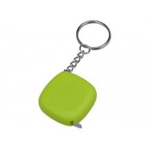 Брелок-рулетка 1м Block, зеленое яблоко