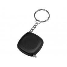 Брелок-рулетка 1м Block, черный