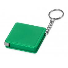 Брелок-рулетка, 1 м., зеленый