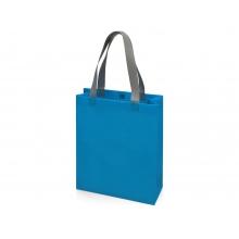 Сумка для шопинга Utility ламинированная, голубой матовый