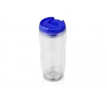 Термокружка «Mony» 400мл, прозрачный/синий