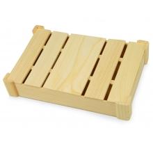 Подарочная деревянная коробка, натуральный