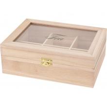 Коробка из 6 отделений Breakfast, коричневый