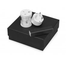 Подарочный набор Charge с адаптером и зарядным устройством, черный