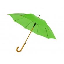 Зонт-трость Радуга, зеленое яблоко
