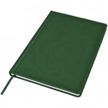 Ежедневник недатированный Bliss, А4,  темно-зеленый, белый блок, без обреза