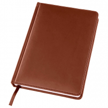 Ежедневник датированный Bliss, А5,  коричневый, белый блок, без обреза