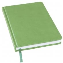 Ежедневник недатированный Bliss, А5, лаймовый, белый блок, без обреза