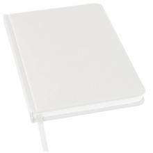 Ежедневник недатированный Bliss, А5,  белый, белый блок, без обреза
