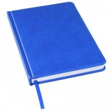 Ежедневник недатированный Bliss, А5,  синий ройал, белый блок, без обреза