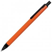 IMPRESS, ручка шариковая, оранжевый/черный