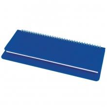 Планинг недатированный Bliss,  синий, белый блок, без обреза