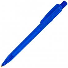 TWIN LX, ручка шариковая, прозрачный синий, пластик