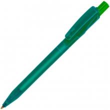 TWIN LX, ручка шариковая, прозрачный зеленый, пластик