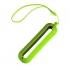 Обложка с ланъярдом к зарядному устройству SEASHELL-1, светло-зеленый, силикон,текстиль