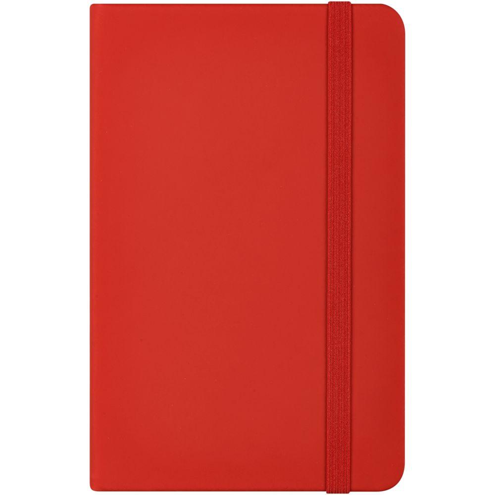 Блокнот Nota Bene, красный, красный, искусственная кожа