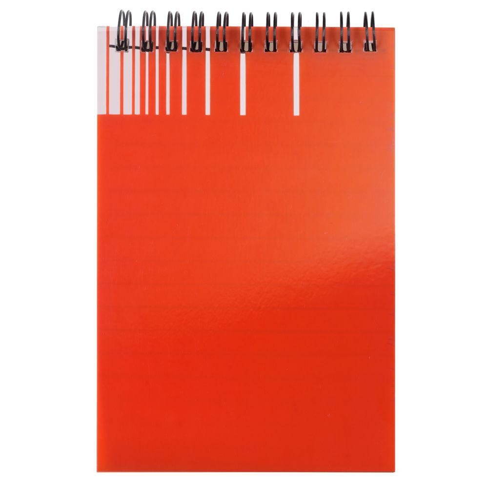 Непромокаемый блокнот Gus, оранжевый, оранжевый, пластик; бумага