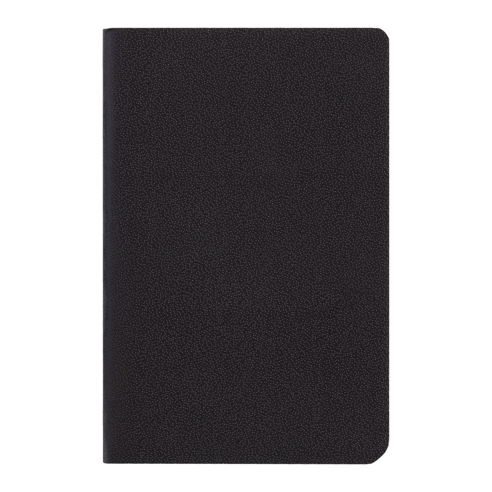 Блокнот Excentrica, черный с красным, красный, бумага