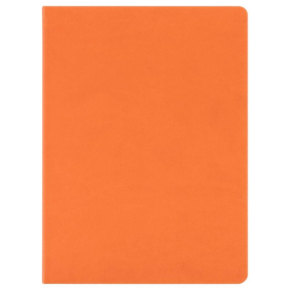 Блокнот Scope, в линейку, оранжевый, оранжевый, искусственная кожа
