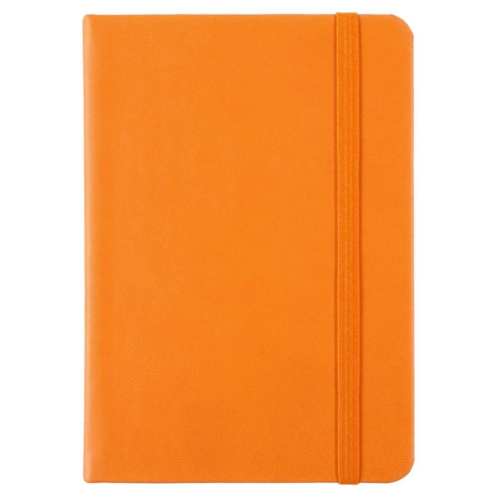 Блокнот Freenote Mini, в линейку, оранжевый, оранжевый, искусственная кожа
