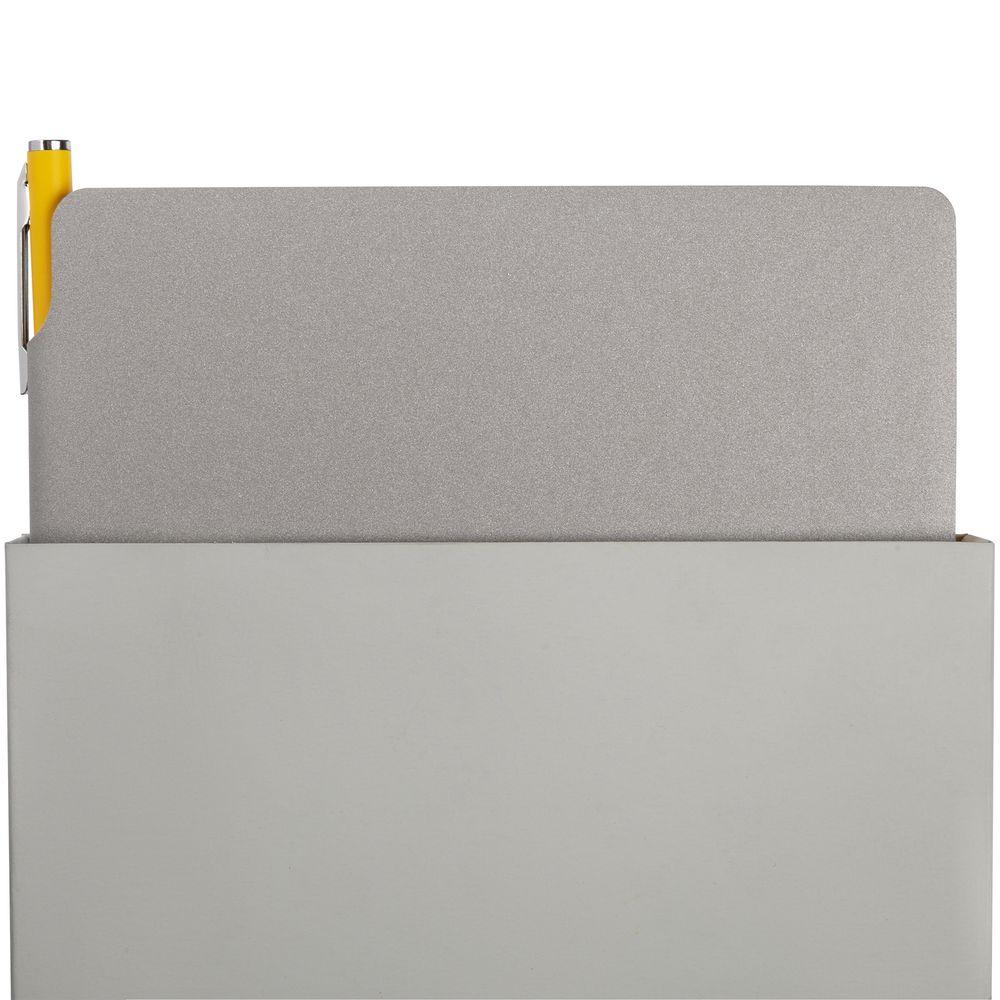 Набор Flexpen, серебристо-желтый, , искусственная кожа; металл; картон
