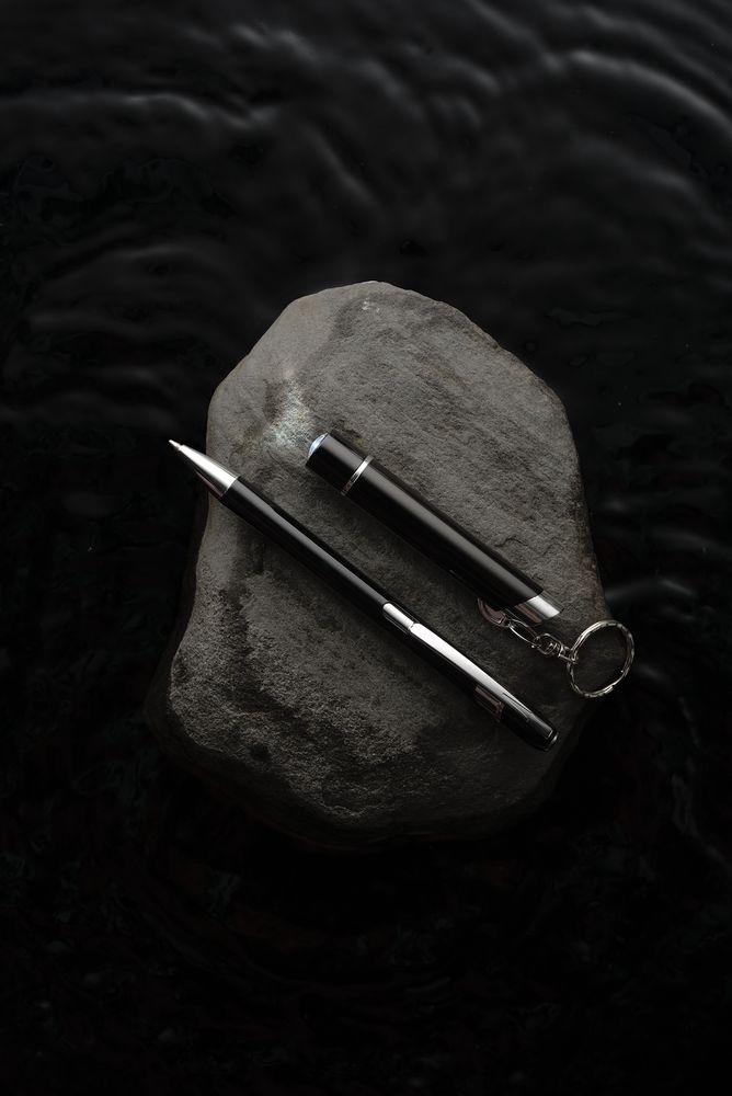Набор Jack: ручка и брелок-фонарик, , переплетный картон; металл; пластик; алюминий