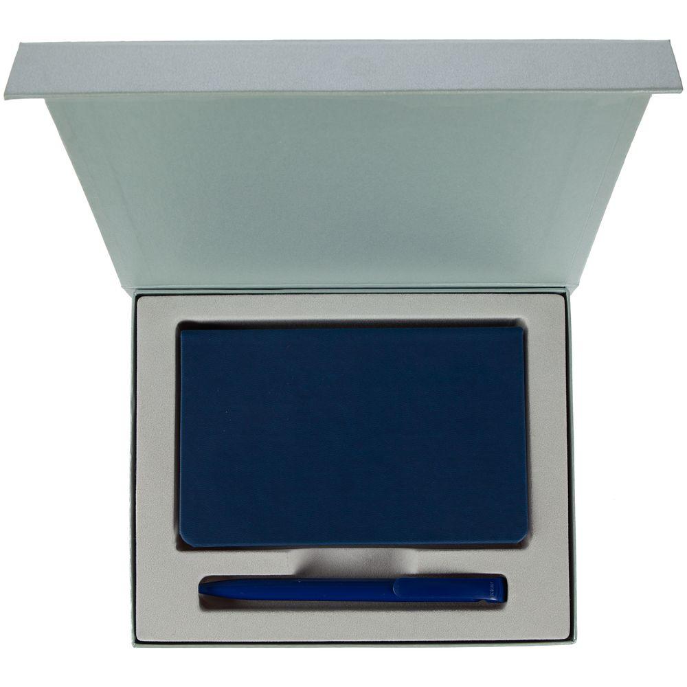 Набор Bright Idea, синий, , искусственная кожа; пластик; переплетный картон