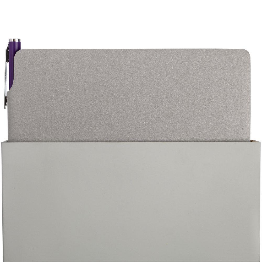 Набор Flexpen, серебристо-фиолетовый, , искусственная кожа; металл; картон