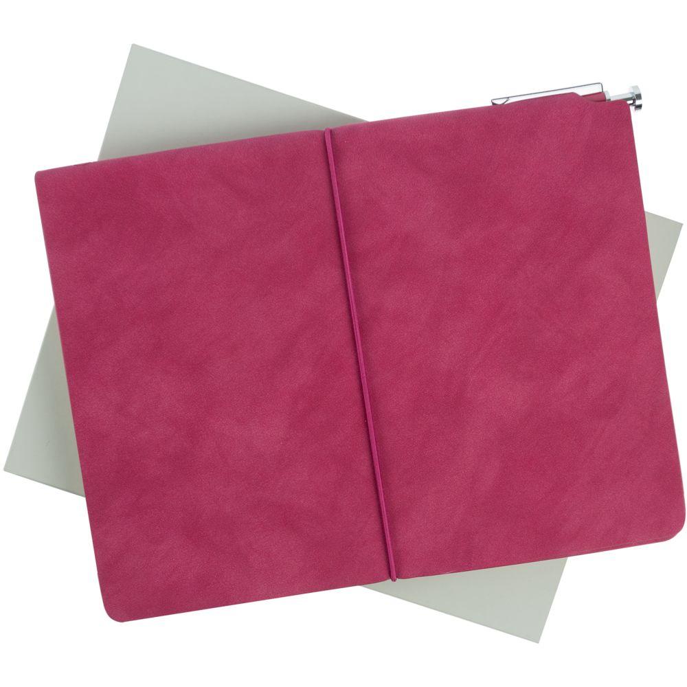 Набор Business Diary, розовый, , искусственная кожа; металл; картон