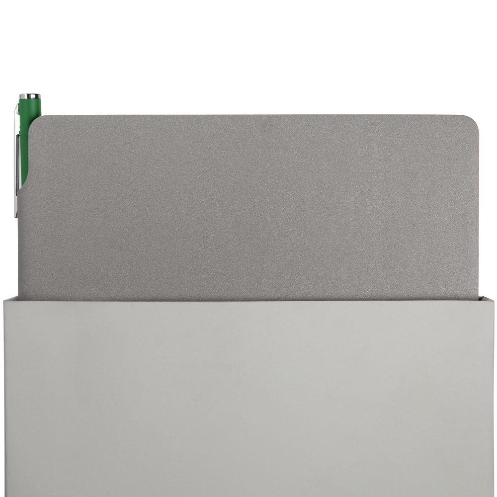 Набор Flexpen, серебристо-зеленый, , искусственная кожа; металл; картон