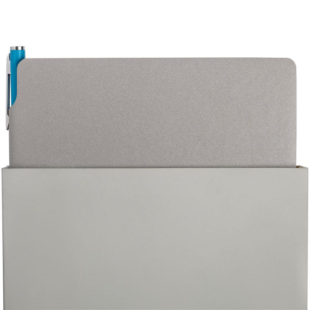 Набор Flexpen, серебристо-бирюзовый, , искусственная кожа; металл; картон